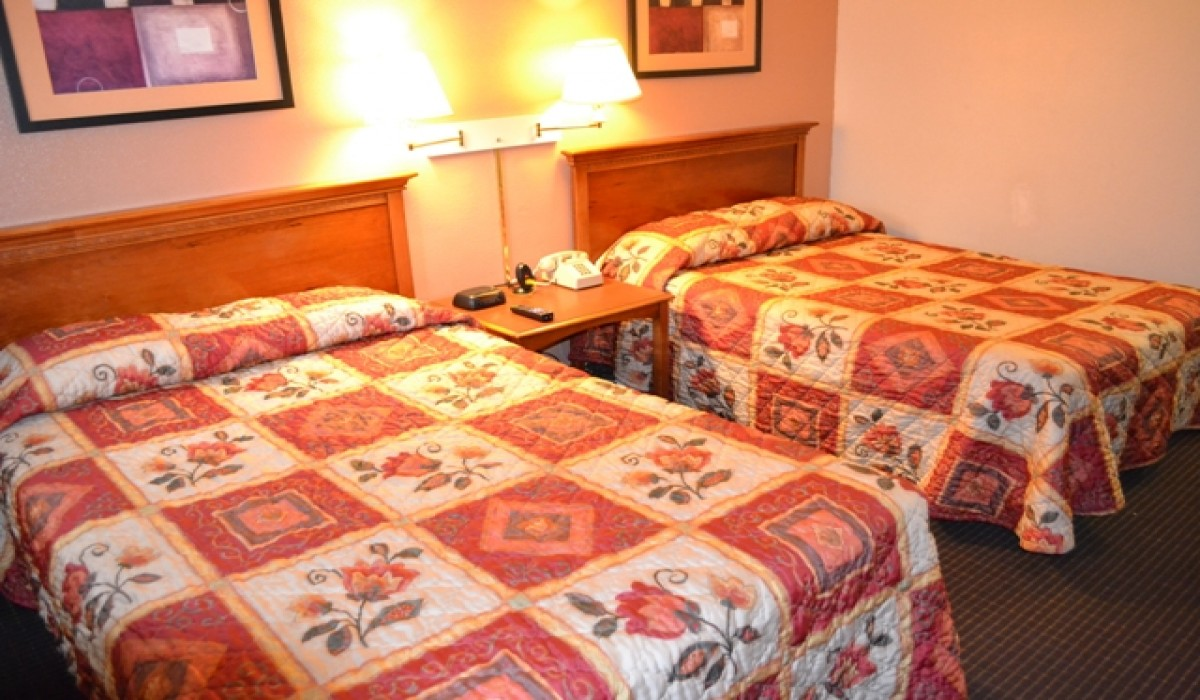 Our Room With 2 Double Beds